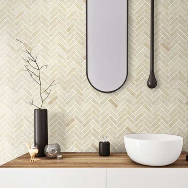 Bath Wall And Floor Mosaic Tile Kitchen