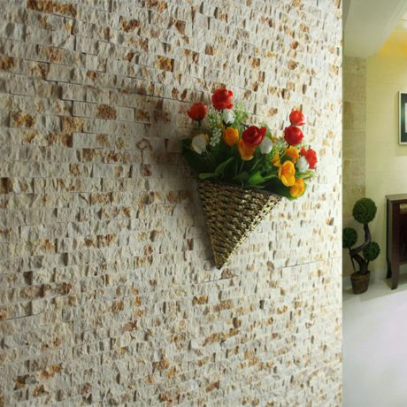 Split Face Subway Travertine Stone Mosaic Tile