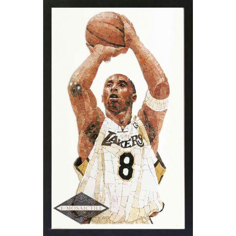 Kobe Bryant Mosaic Art (with Frame)