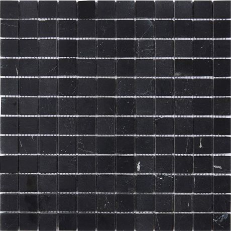 Marble Stone Mosaic Tile Square Black Honed