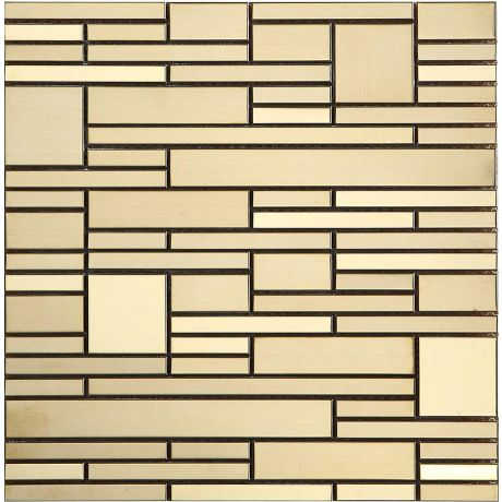 Golden Stainless Steel Mosaic Tile Special