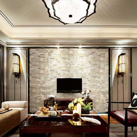 3D Specialty Grey and Beige Marble Stone Bath Wall and Floor Mosaic Tile Kitchen Backsplash