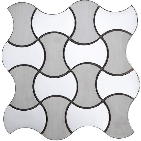 Stainless Steel Mosaic Tile Special Silver