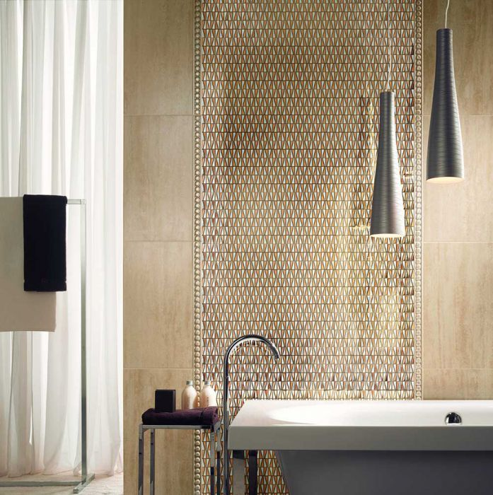 Stainless Steel Mosaic Tile Special Rose Silver