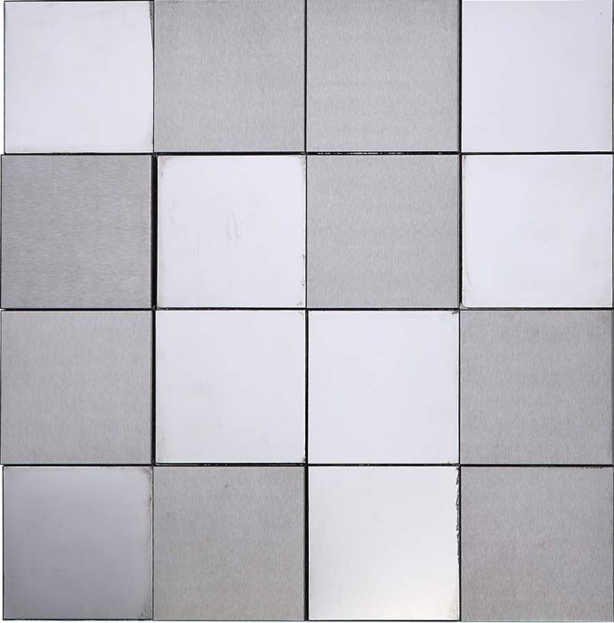 3D Stainless Steel Mosaic Tile Special Black